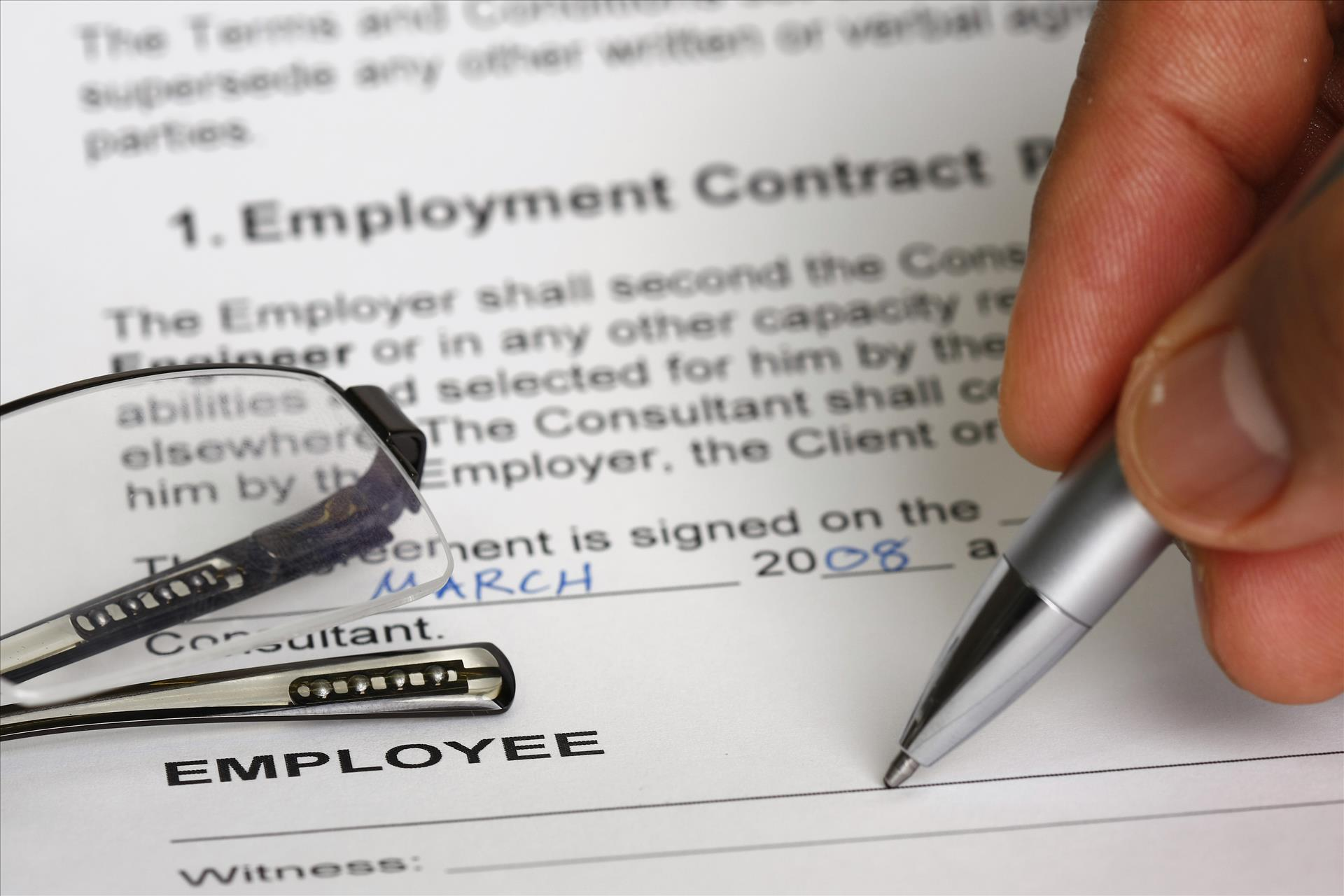 Employment Contracts for all workers